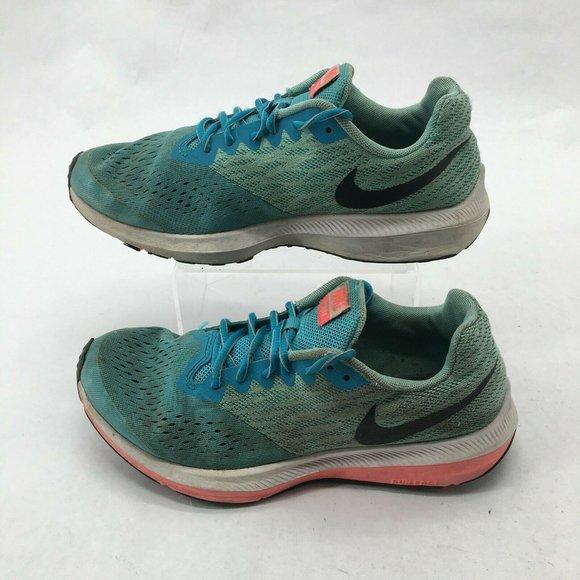 Nike Zoom Winflo 4 Running Sneakers Low Top Lace U